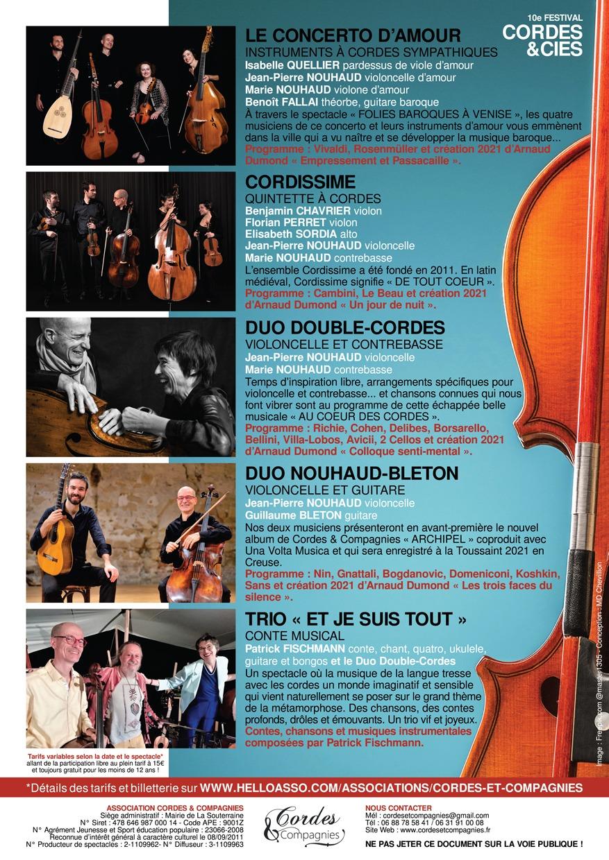 10e festival Cordes & Cies 1