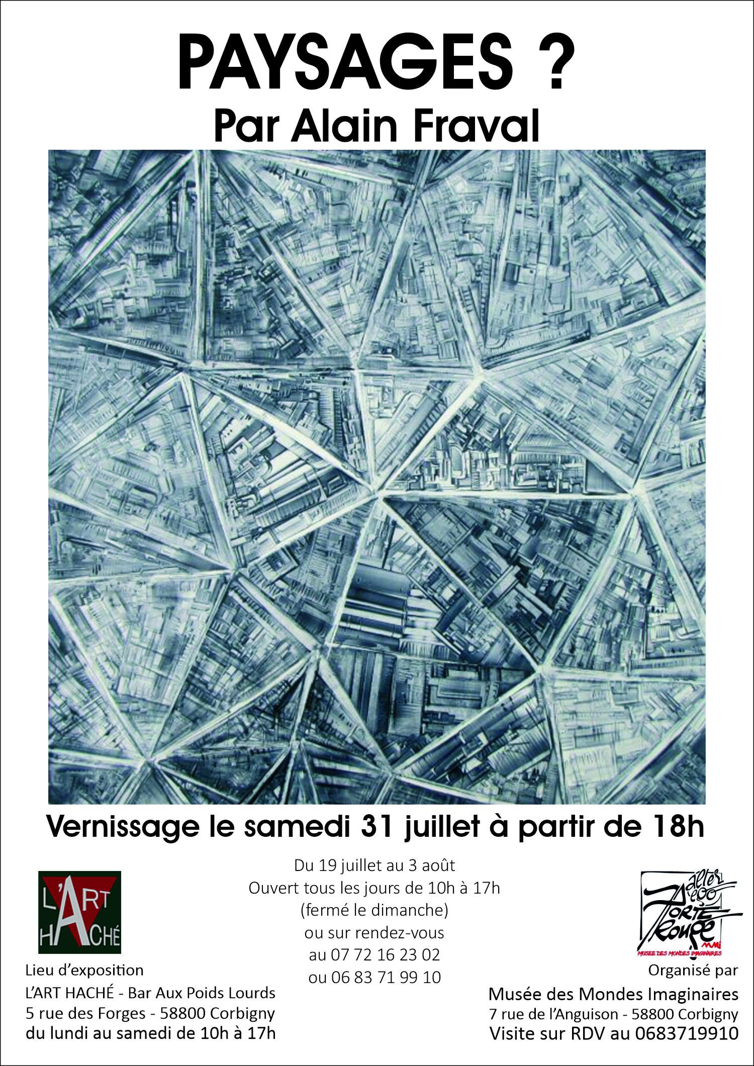 Paysages ? par Alain Fraval